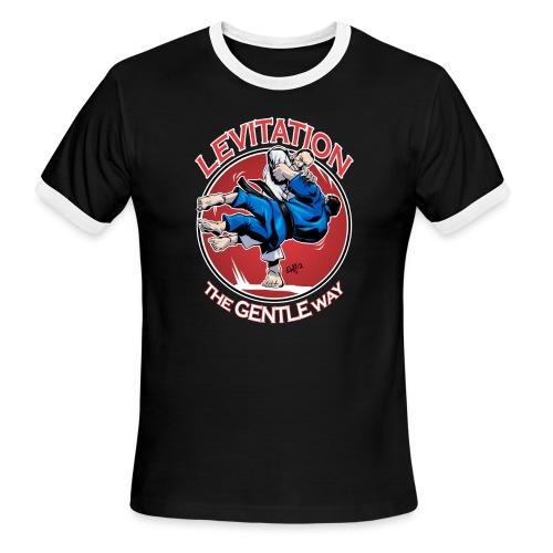 Judo Levitation for dark shirt - Men's Ringer T-Shirt
