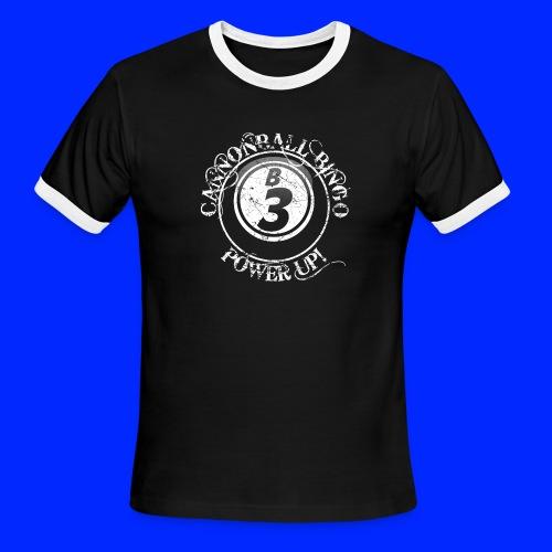 Vintage Cannonball Bingo Ball Tee - Men's Ringer T-Shirt