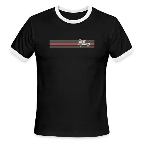 Bronco Line Art T-Shirt - Men's Ringer T-Shirt