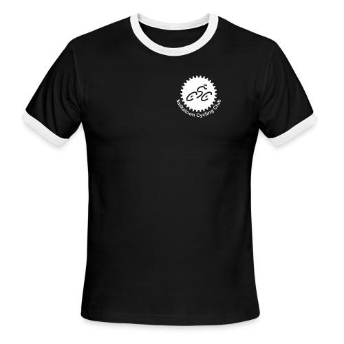 Saskatoon Cycling Club White - Men's Ringer T-Shirt
