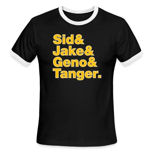 Helvetica& Hockey 2021 - Men's Ringer T-Shirt