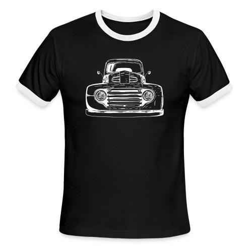 1949 Ford F1 Classic Truck Men's T-Shirt - Men's Ringer T-Shirt