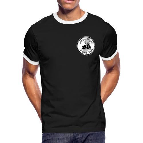 JSCC Logo (White) - Men's Ringer T-Shirt
