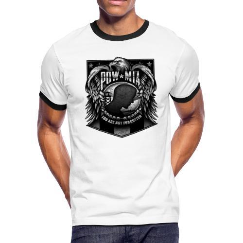 POW MIA - Men's Ringer T-Shirt