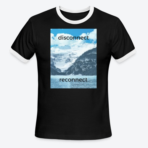 Disconnect Reconnect - Men's Ringer T-Shirt