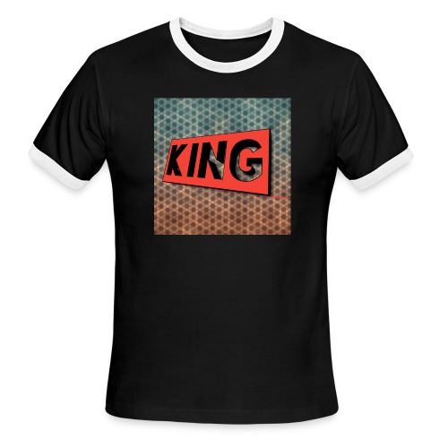kingcreeper7972 logo - Men's Ringer T-Shirt