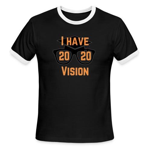 Class of 2020 Vision - Men's Ringer T-Shirt
