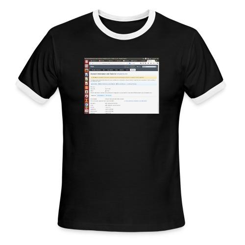 Screenshot from 2016 09 07 02 14 53 - Men's Ringer T-Shirt