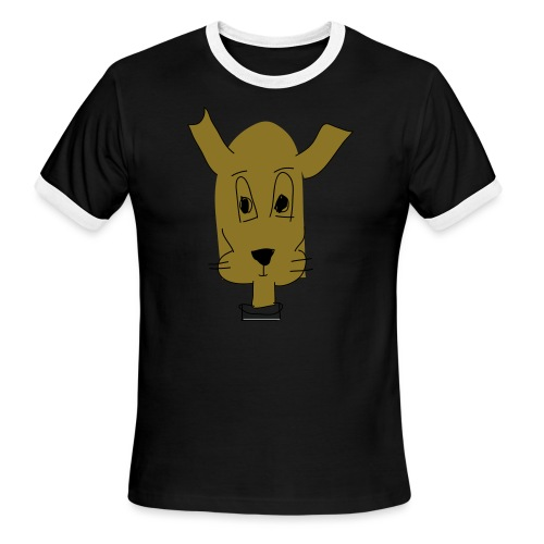 ralph the dog - Men's Ringer T-Shirt