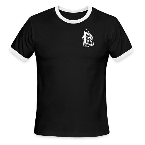 HBX LOGO - Men's Ringer T-Shirt