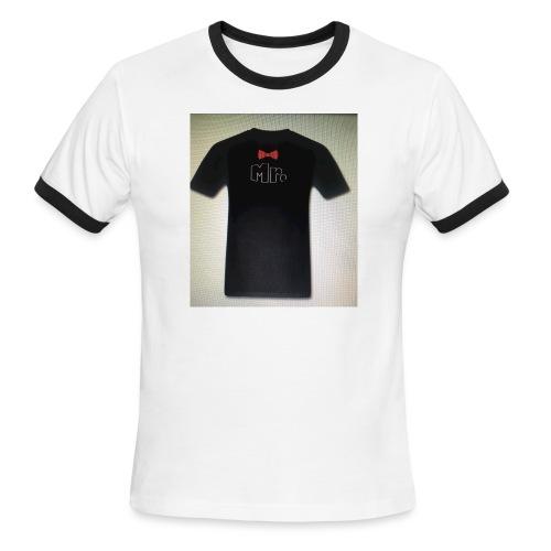 Mr and Mrs t-shirt - Men's Ringer T-Shirt