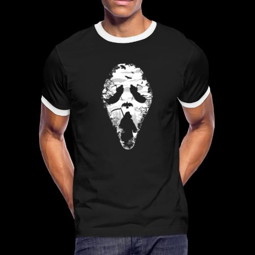 Reaper Screams | Scary Halloween - Men's Ringer T-Shirt