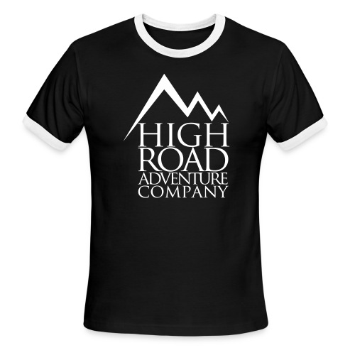 High Road Adventure Company Logo - Men's Ringer T-Shirt