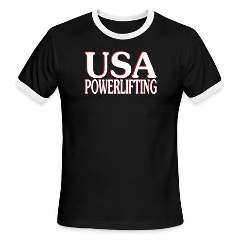 usa pl - Men's Ringer T-Shirt