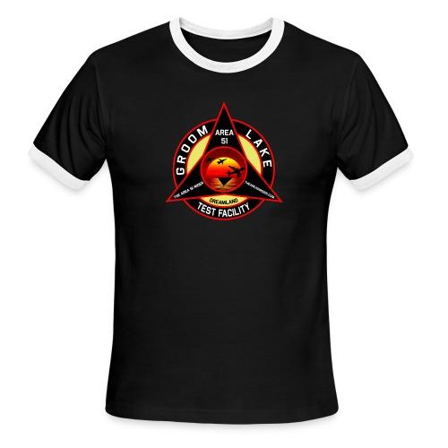 THE AREA 51 RIDER CUSTOM DESIGN - Men's Ringer T-Shirt