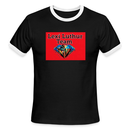 Mens Team Hoodie and Shirt - Men's Ringer T-Shirt