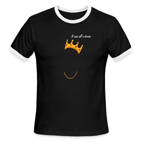 Biggie Iconic Shirt - Men's Ringer T-Shirt