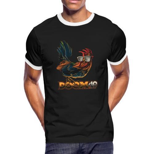 DooM49 Chicken - Men's Ringer T-Shirt