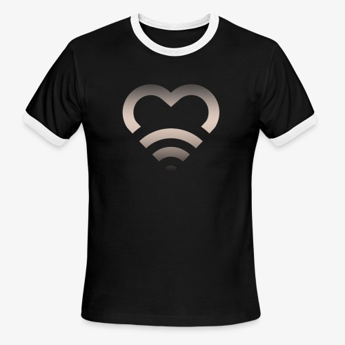 I Heart Wifi IPhone Case - Men's Ringer T-Shirt