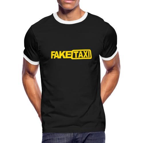 FAKE TAXI Duffle Bag - Men's Ringer T-Shirt