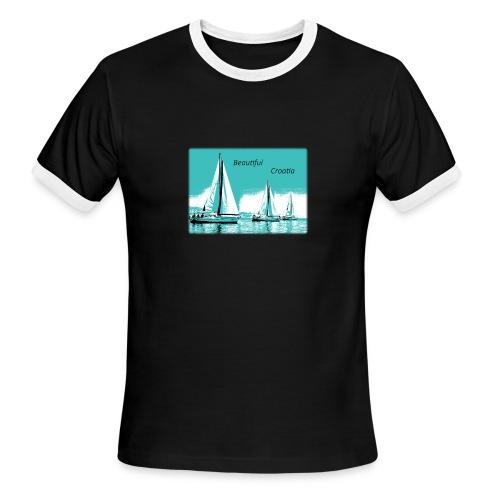 Beautiful Croatia - Men's Ringer T-Shirt