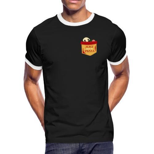 Just feed me pizza - Men's Ringer T-Shirt