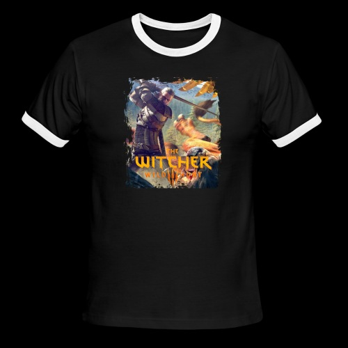 The Witcher 3 - Griffin - Men's Ringer T-Shirt