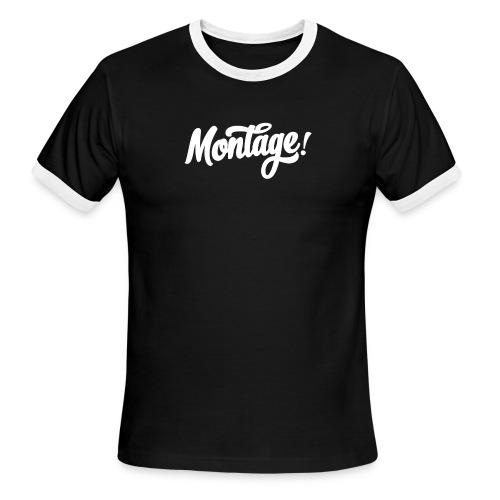 Montage - Men's Ringer T-Shirt