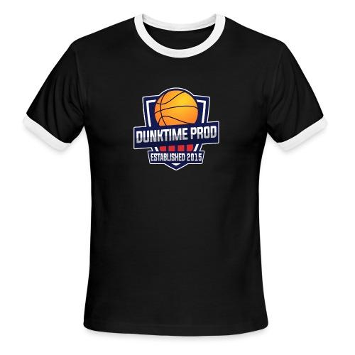DUNKIME Producions Logo - Men's Ringer T-Shirt