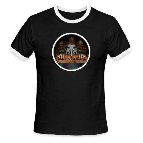 Troll House Games Logo - Men's Ringer T-Shirt
