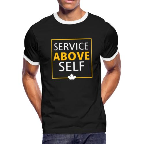 Service Above Self - Men's Ringer T-Shirt