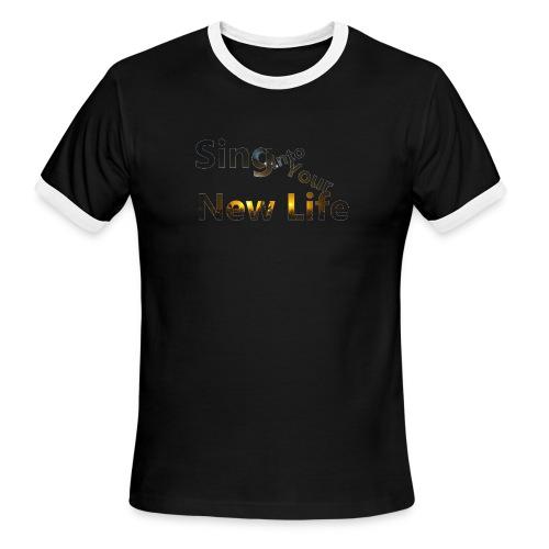 Sing in Brown - Men's Ringer T-Shirt