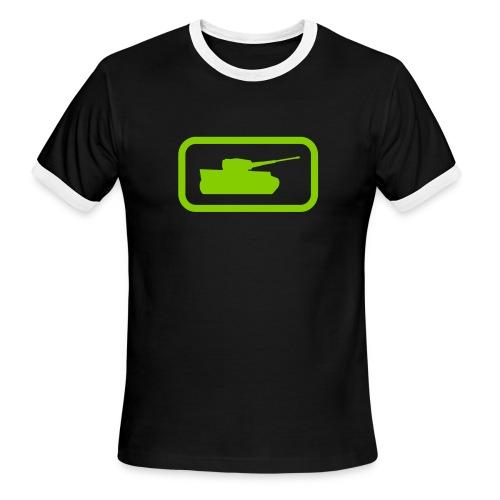 Tank Logo - Multi-Color - Axis & Allies - Men's Ringer T-Shirt