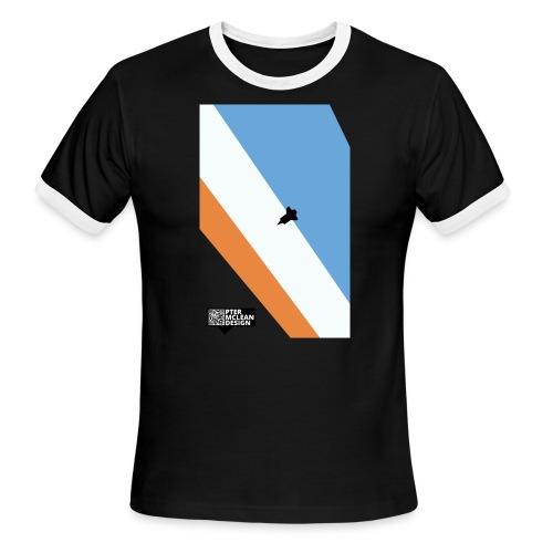 ENTER THE ATMOSPHERE - Men's Ringer T-Shirt