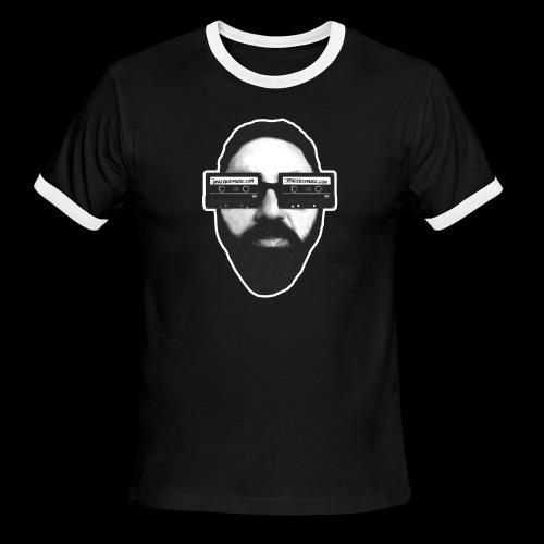 Spaceboy Music RetroVision - Men's Ringer T-Shirt