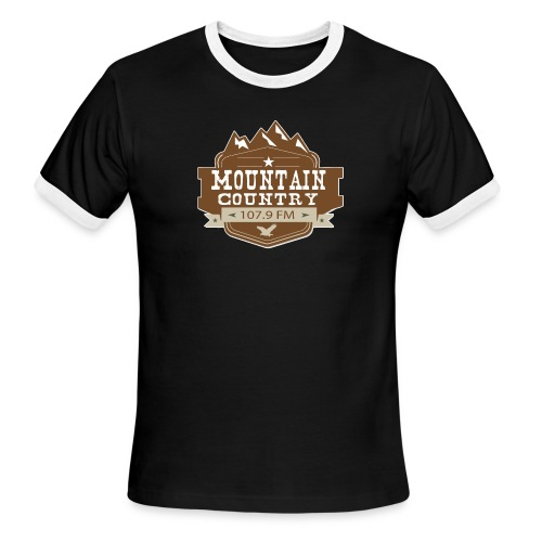 Mountain Country 107.9 - Men's Ringer T-Shirt