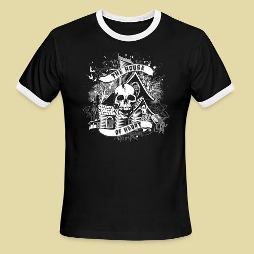 hoh_tshirt_skullhouse - Men's Ringer T-Shirt