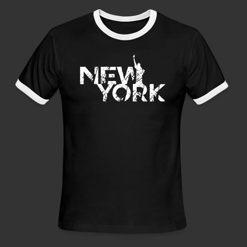 New York (Flexi Print) - Men's Ringer T-Shirt