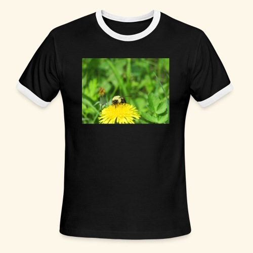 Dandelion Bee - Men's Ringer T-Shirt