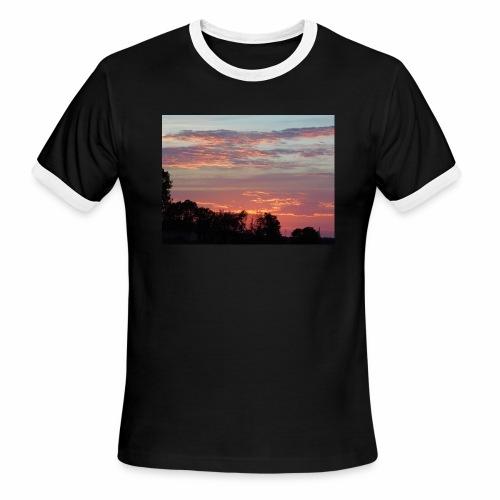 Sunset of Pastels - Men's Ringer T-Shirt