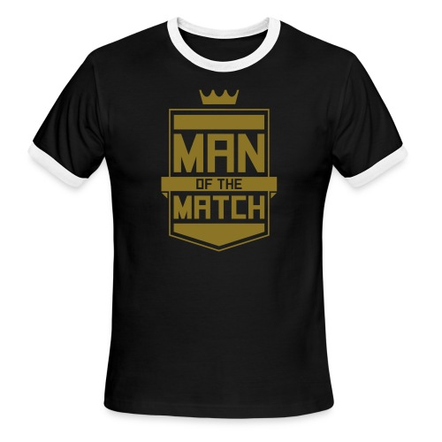 Man of the Match - Men's Ringer T-Shirt