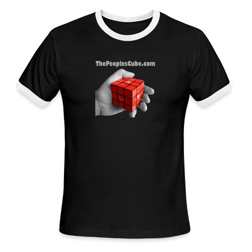 Cube in hand - Men's Ringer T-Shirt