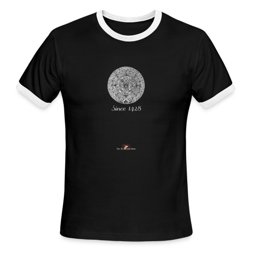 Since 1428 Aztec Design! - Men's Ringer T-Shirt