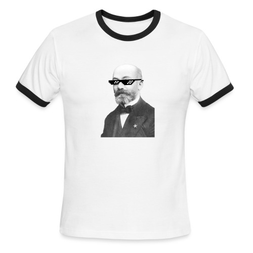 Zamenhof Shades (BW) - Men's Ringer T-Shirt