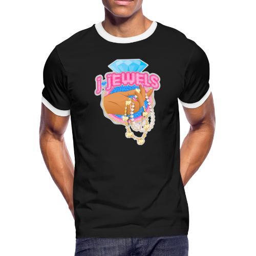 JJ Logo - Men's Ringer T-Shirt