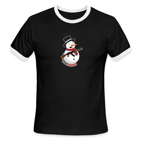 PRODBYSNOWMAN - Men's Ringer T-Shirt