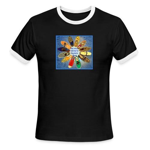 more shoes 1 2 - Men's Ringer T-Shirt
