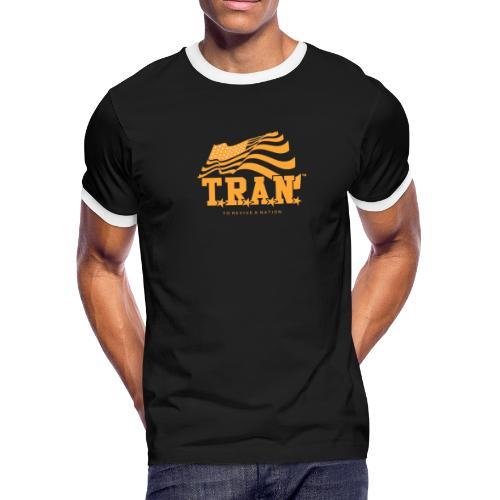 TRAN Gold Club - Men's Ringer T-Shirt