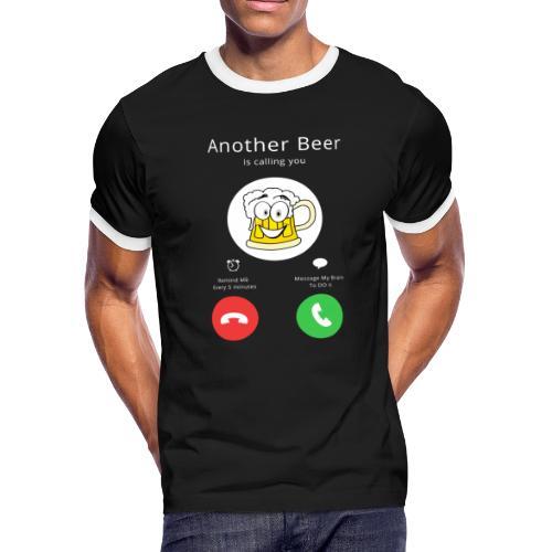 Beer Calls - Men's Ringer T-Shirt
