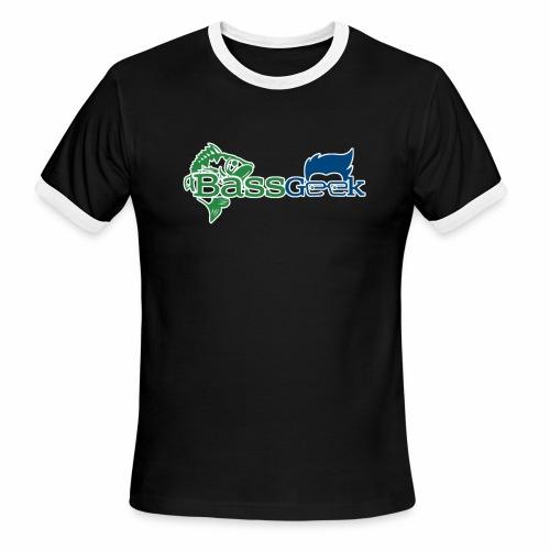 BassGeek Logo - Men's Ringer T-Shirt